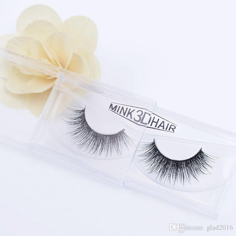 Selling 100% Real Siberian 3D Mink Full Strip False Eyelash Long Individual Eyelashes Mink Lashes Extension 3D-39