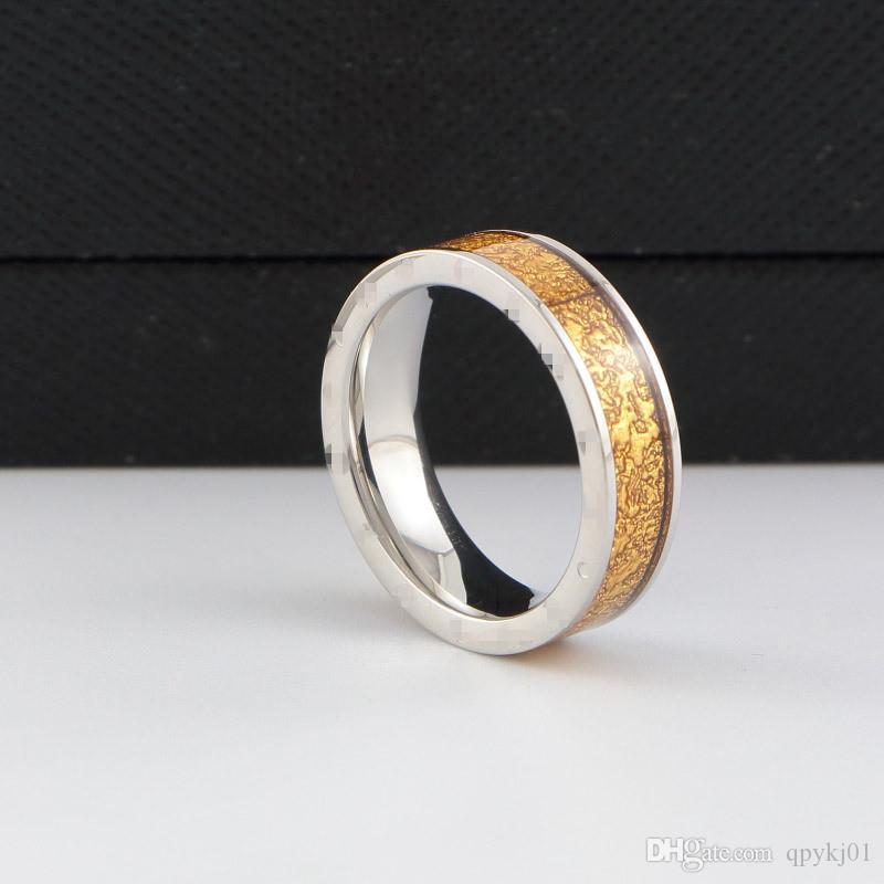 Оптовая Марка bv цвет оболочки керамические кольца из нержавеющей стали Любовь кольцо для женщин мужчины пары обручальное кольцо тонкие кольца женщины мужчины