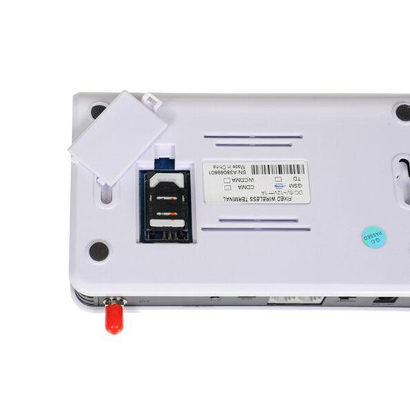 900MHz / 1800MHz GSM sem fio terminal fixo conectar telefone de mesa para fazer chamadas telefônicas Terminal sem fio Gateway Sistema de Alarme usar Sim Card