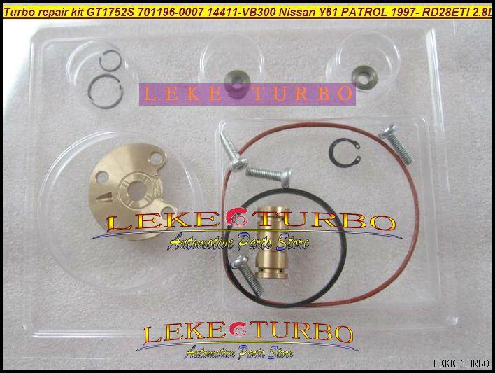 Turbo repair kit rebuild kit For GT1752S 701196-5007S 701196 14411-VB300 turbocharger for NISSAN Y61 PATROL 97- RD28Ti RD28ETI 2.8L RD28T (1)