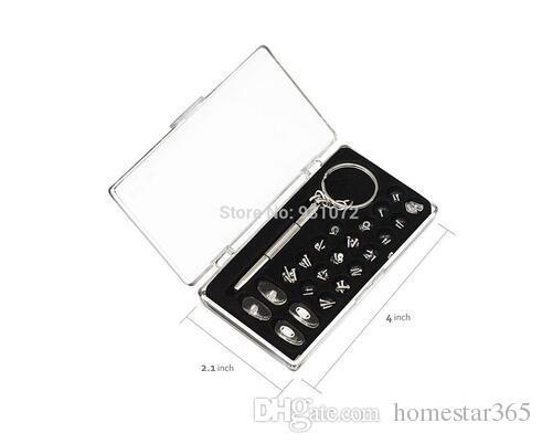 샘플 테스트 링크 핸드 툴 및 실용적인 3in1 스크루 드라이버 안경 썬글라스 수리 키트 키 체인 포함 작은 스테인레스 스틸 스크류 키트 도구