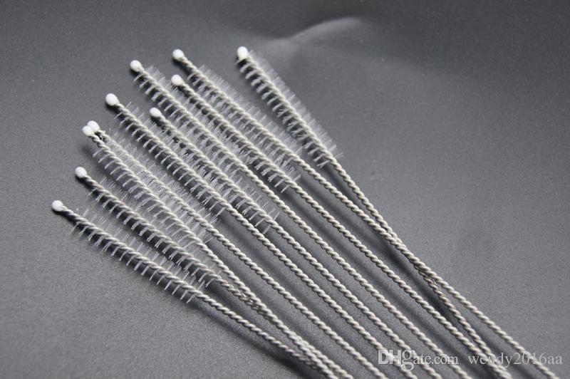 Spazzola pulizia paglia in acciaio inox Spazzola pulizia paglia in nylon Spazzola la pulizia del tubo in acciaio inox