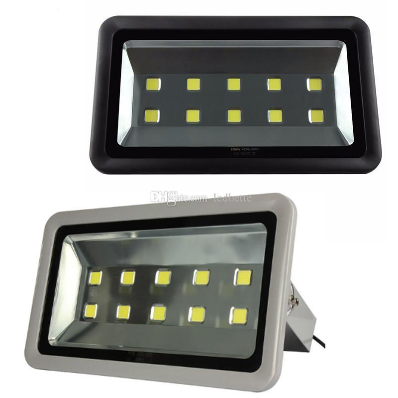 La iluminación al aire libre llevada al aire libre del proyector del reflector 500W llevó la iluminación exterior llevada impermeable del reflector de la lámpara IP65 de la luz de inundación