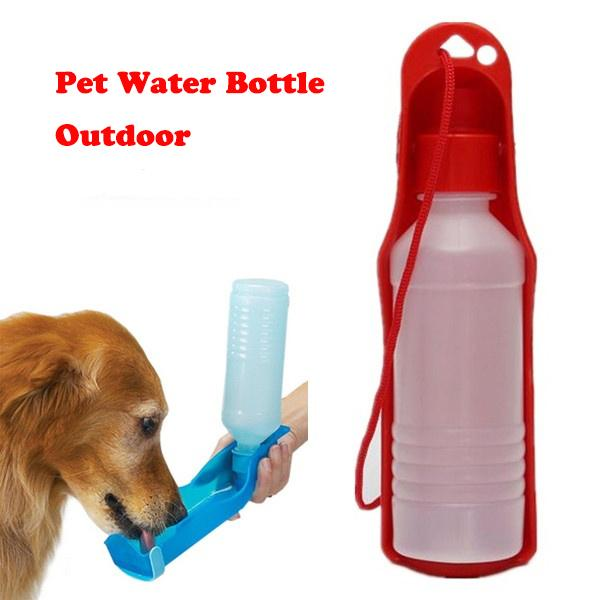2019 Outdoor Portable Pet Dog Water Bottles Foldable Tank