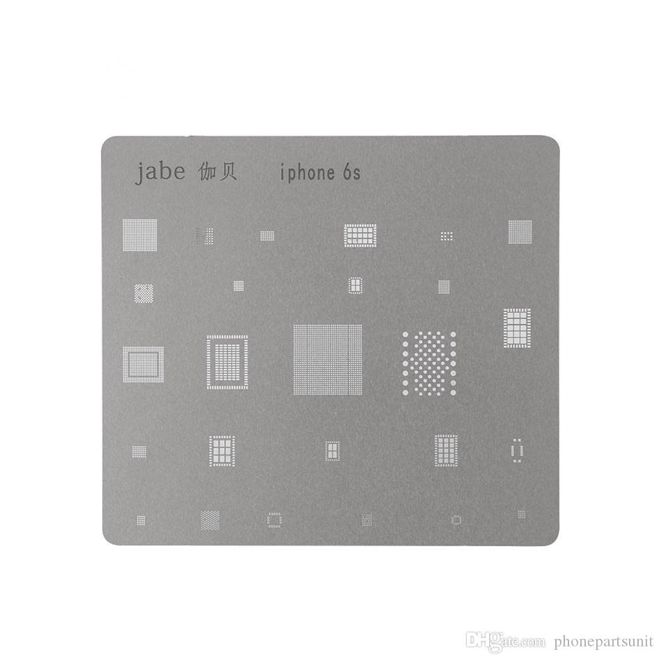 Carte Mère IC Puce Balle À Souder Net Plaque En Acier pour iPhone 7 Plus 7 6s 6 SPlus 6 6 Plus Carte Principale CPU Repair Tool Set