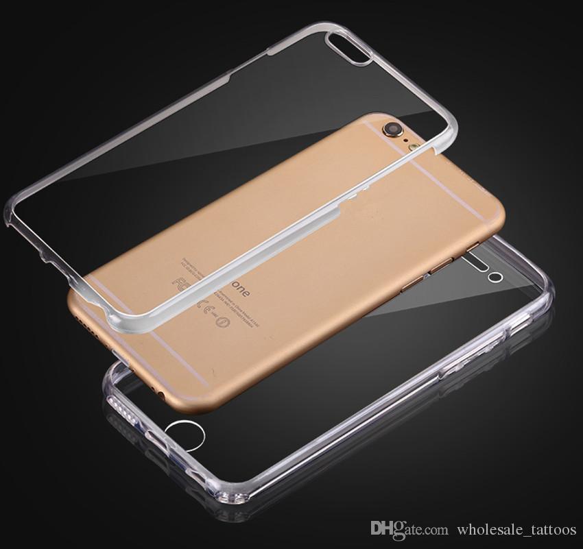 For LG Aristo MS210 K20 PLUS K10 2017 Full Body Case 360 Degree Front Back Transparent Soft TPU Cover LV3 V3 MS210 K8 2017 MOQ: