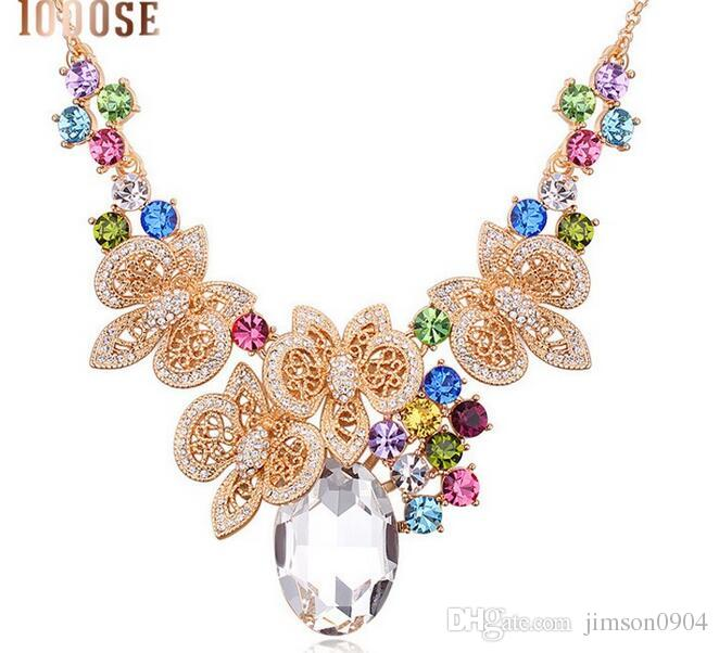 2017 new 1000SE Quality goods woman Austria Crystal Necklace fiery passion Originality Pendant Ornaments jewelry sale