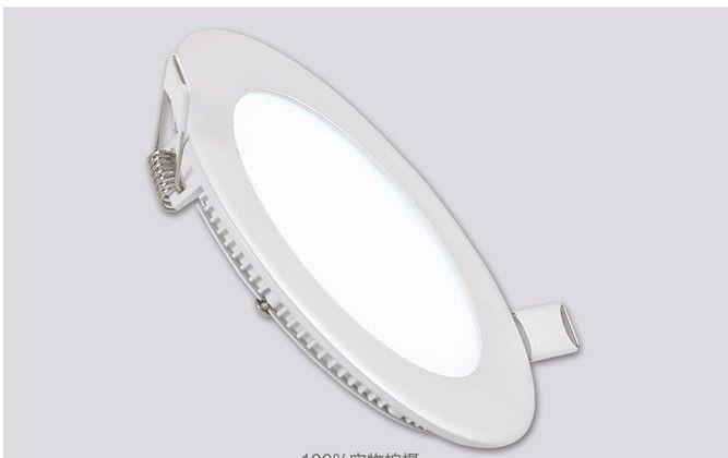 luce della lampada ultra luminosa 3W 6W 9W 12W 15W 20W ha condotto il soffitto messo Downlight rotondo / quadrato della luce di pannello 1800Lm pannello Led Bulb