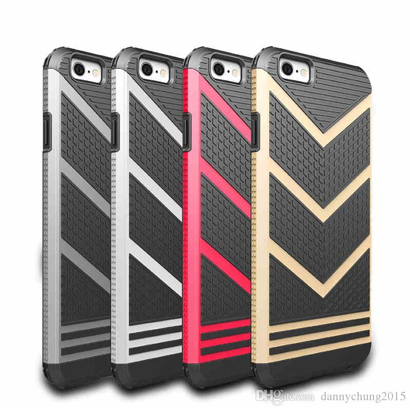 860ea84afa12f1 V-shaped Armor Hard Case for Iphone 6 6S Plus 7 Plus 5 5S SE Cases ...