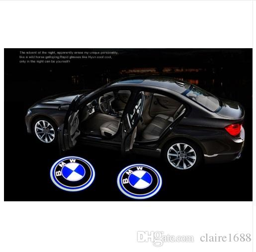 FREE SHIPPING 2PCS LED Car Door Welcome Light Laser Shadow led Lighting Projector For BMW