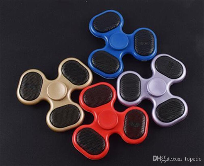 New Led Bluetooth Speaker Fid Spinner Multicolor Usb Hand Spinner