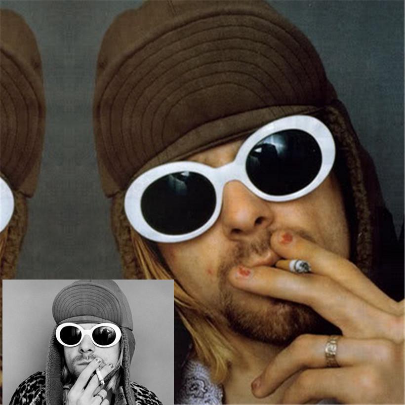 cc06b07256caa YOOSKE NIRVANA Kurt Cobain Óculos De Sol Das Mulheres Dos Homens Designer  de Marca Feminino Masculino Óculos de Sol das Mulheres Óculos Femininos  Retro ...