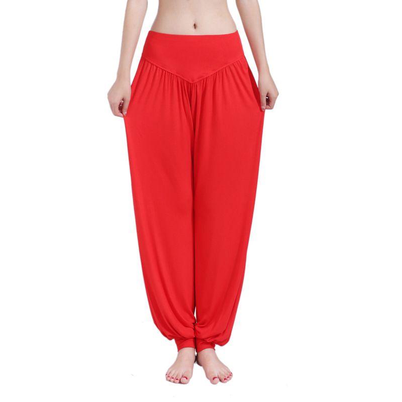 5ee2beb620 2019 Plus Size Women Yoga Pants Leggings Colorful Bloomers Dance Yoga  TaiChi Full Length Pants Modal Pants Yoga Clothes From Lotus_love, $25.39 |  DHgate.Com