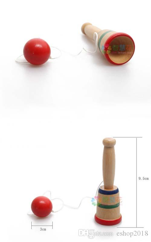 스킬 볼 컵 스포츠 손을 코디 운동 나무 장난감 게임 도매 장난감 도매 무료 배송