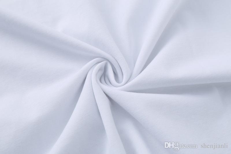 Maglietta casuale degli uomini di marca della maglietta del bicchierino del O-collo della nuova di alta qualità del cotone di trasporto libero 2017 la maglietta di polo degli uomini di sport