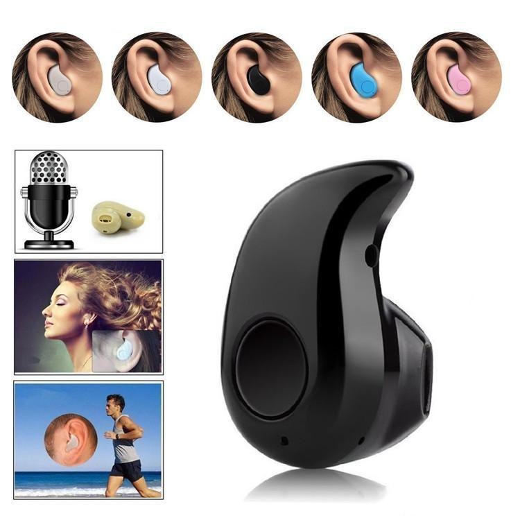 New S530 Mini Wireless Bluetooth 4.0 Earphone Stereo Light Stealth Headphones Headset Earbud With Micro phone Universal with retail box