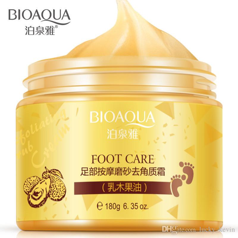 BIOAQUA Foot massage frosted scrub feet membrane membrane foot care Feet cream Beauty Health Feet foot mask Free Shipping