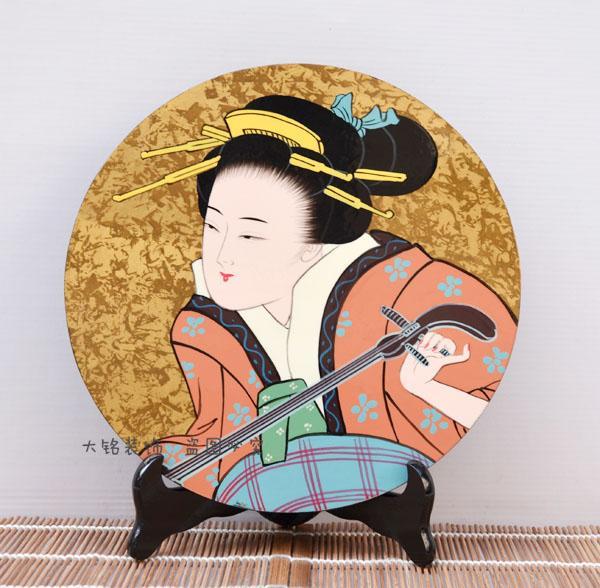 Ribenyuandan e artigianato tradizionale giapponese e decorazione decorativa in stile lacca numero di targa