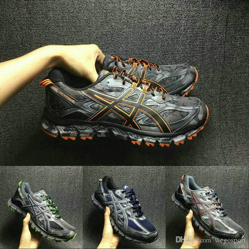 premium selection 94ea5 3713c Best Quality Asics Gel-Scram 3 T6K2N-9790 Cross-Country Running Shoes New  Arrivals Men Original Athletics Sport Sneakers 40.5-44