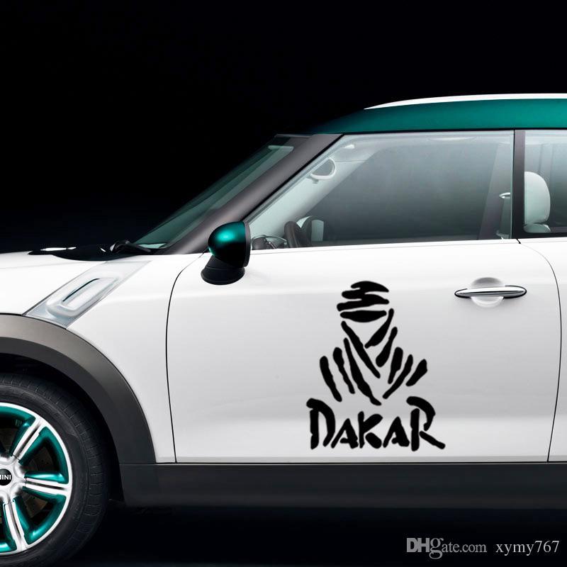 2017 Hot Sale Cool Graphics 2x Dakar Rally Car Truck Suv Auto Door Tool Box Sticker Funny Vinyl Decal Decor Jdm