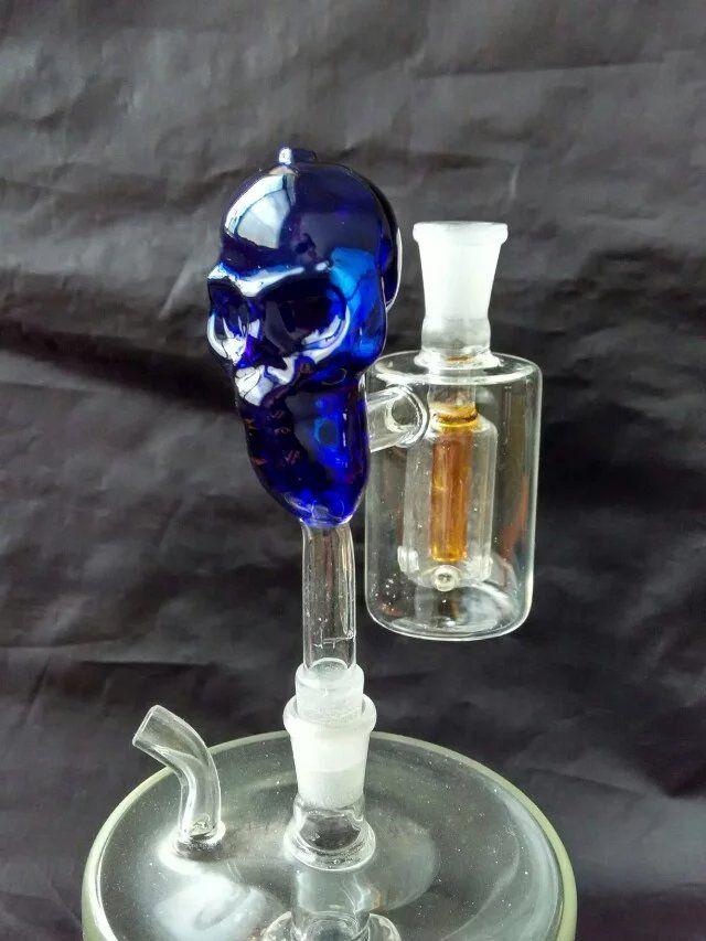 Bones external filter bongs accessories  , Glass Water Pipe Smoking Pipes Percolator Glass Bongs Oil Burner Water Pipes Oil Rigs Smoking