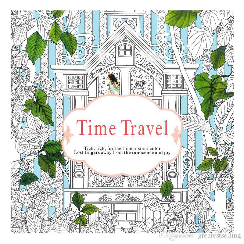 Compre Libros Para Colorear Para Adultos 4 Diseños Jardín Secreto ...