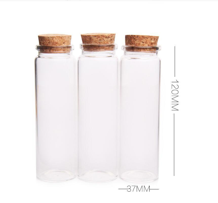 90ml Clear Glass Container With Cork90cc Glass Jar 3oz Glass