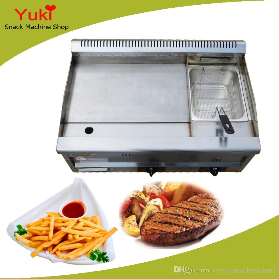 Gas Fryer With Griddle Gas ~ Best gas griddle with fryer commercial