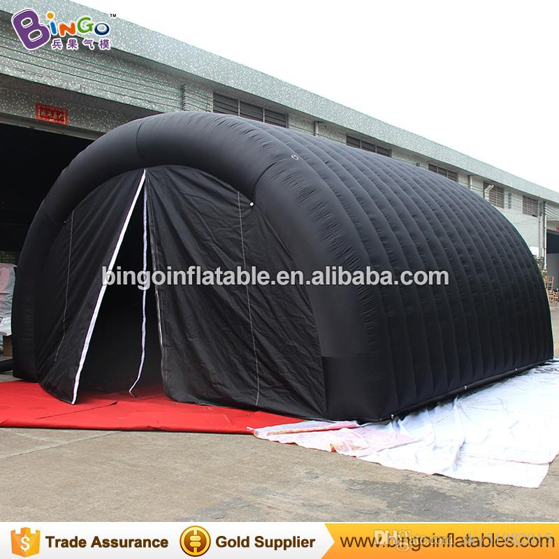 2018 6x4.5x3.5 Meters Black Color Inflatable Tunnel Tent Hot Sale Customized Blow Up Tent Tunnel For Event Toys From Sky51982015 $1055.28 | Dhgate.Com & 2018 6x4.5x3.5 Meters Black Color Inflatable Tunnel Tent Hot Sale ...