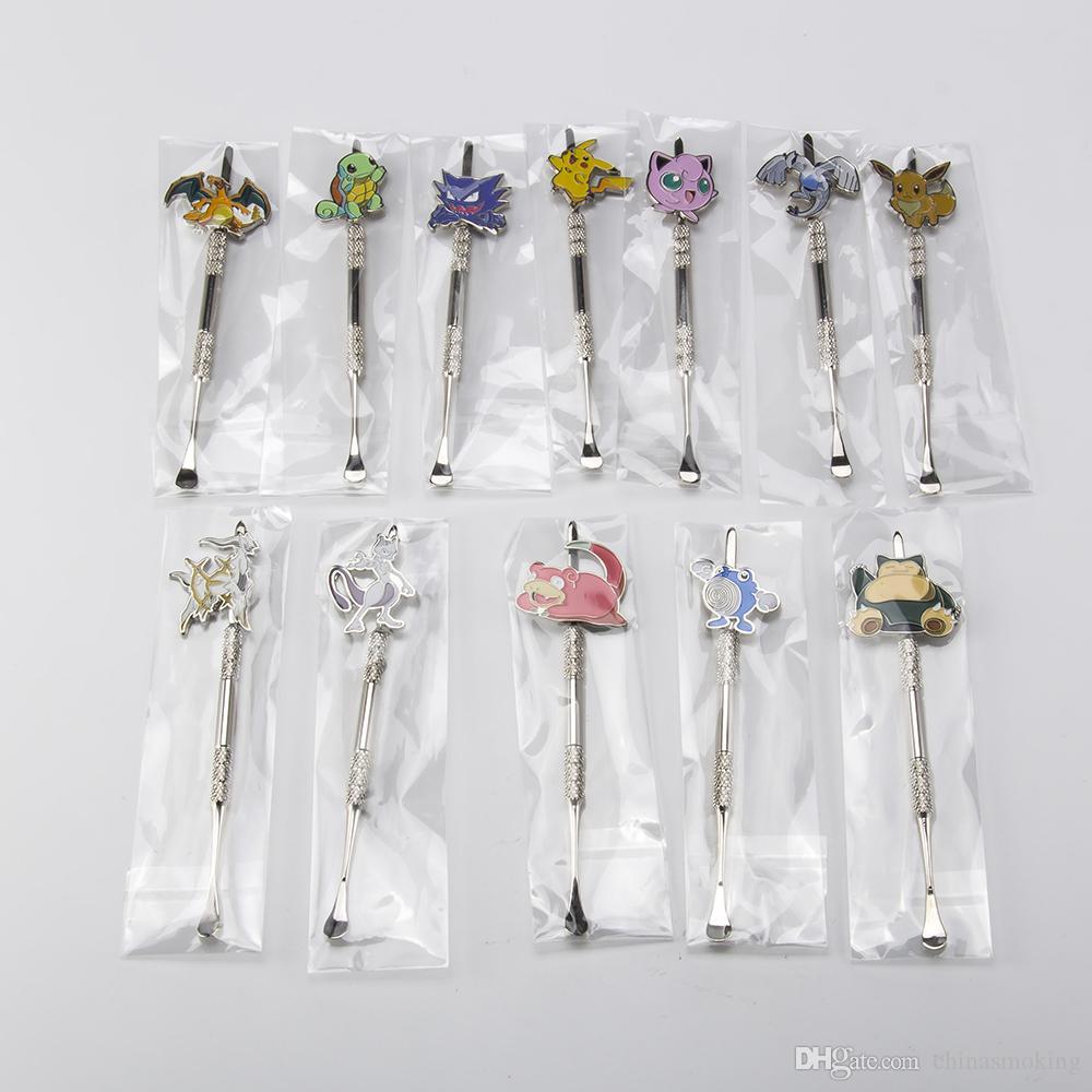 Metalldabbers-Paket Montag-Karikaturglasbongswerkzeug, Wasserleitung, tupfen Ölplattformen, die Zusatzschleifer, Glasschüssel, Silikonglas rauchen