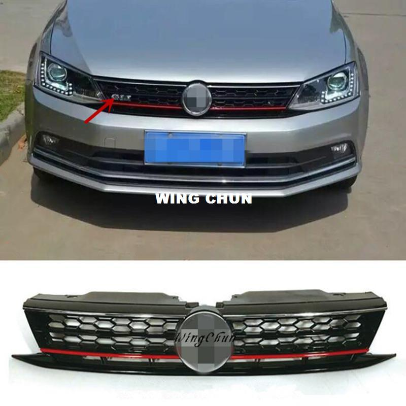 99bce3a2114f 2019 High Quality ABS Honeycomb GLI Front Upper Grille Fit For VW Jetta MK6  2015 2016 Up Grill From Arjunxu, $108.11 | DHgate.Com