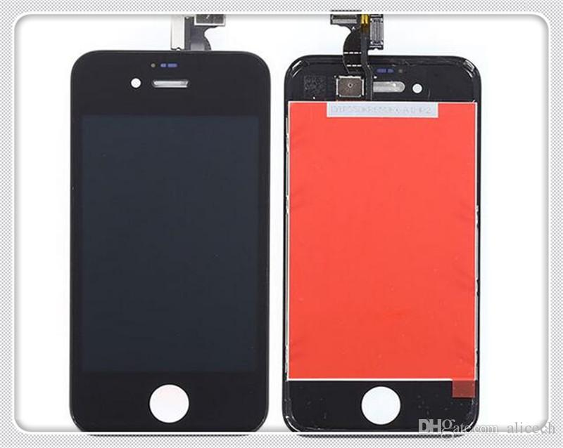 LCDs Display Digitizer For Iphone4S Cell Phone Replacement USD9.9 Assembly iphone 6 case LCD Screen Free Shipping