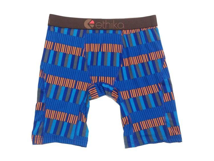 Random colors Ethika Men's boxer underwear sports hip hop rock excise underwear skateboard street fashion quick dry US size
