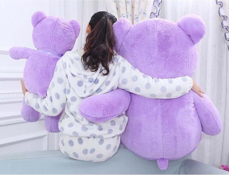 Hot Sale Lavender Teddy Bear Plush Toy Purple Hug Bear Stuffed Animal Valentine's Day Gifts Christmas Gift