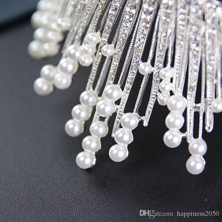 Beauty Silver Flower Bridal Necklace Earring Suits Jewelry Suits Wedding Bridal Jewelry P419016