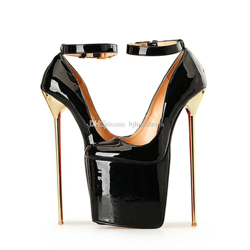 22CM Heel Height Sexy Round Toe Stiletto Heel Pumps Party Shoes Metal Heel  No.A-28 Stiletto Heel Sexy Shoes Pumps Online with $101.72/Pair on  Bjhighheels's ...