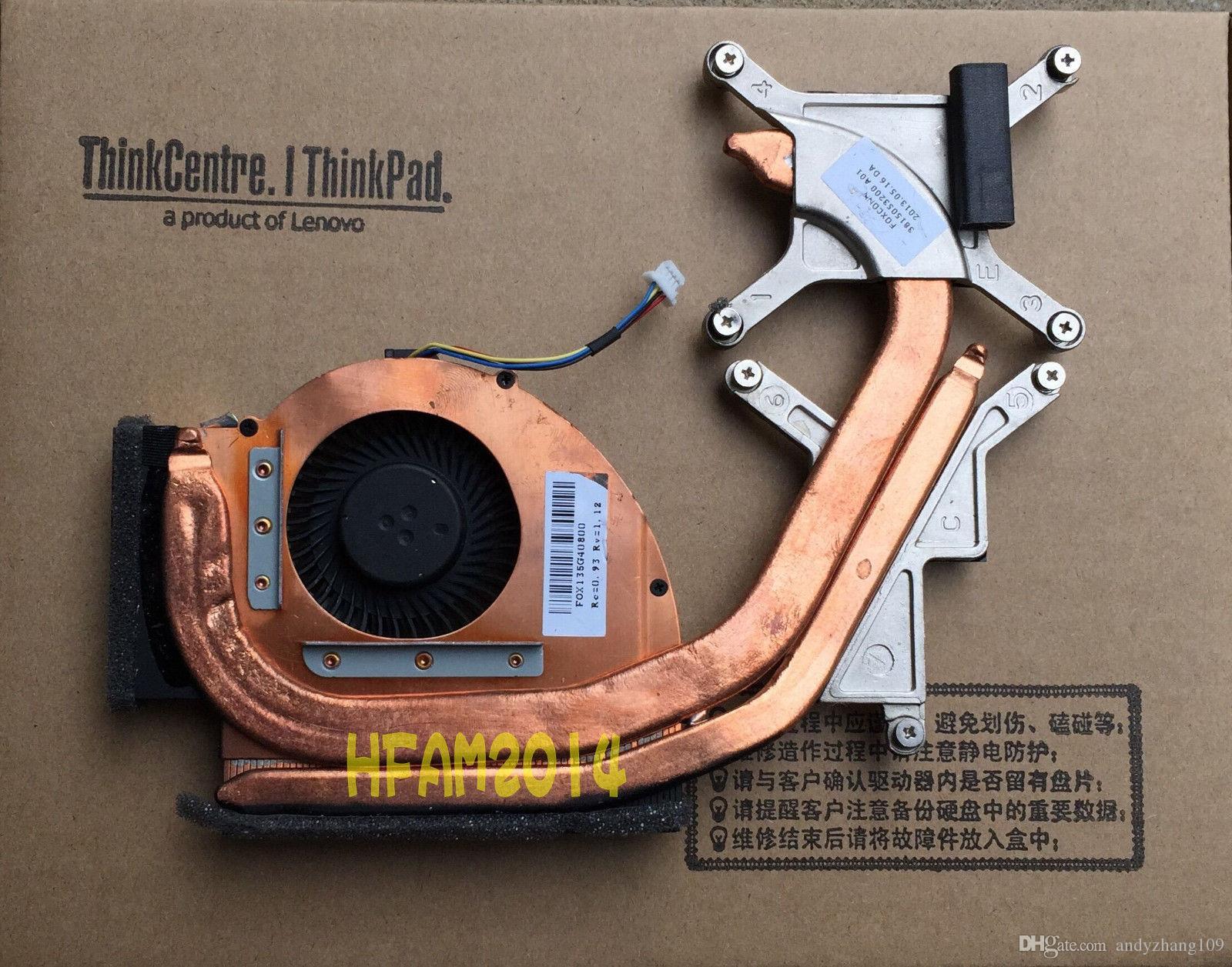 Новый вентилятор процессора ноутбука для IBM Lenovo Thinkpad T530 CPU вентилятор охлаждения с радиатором 04W3623