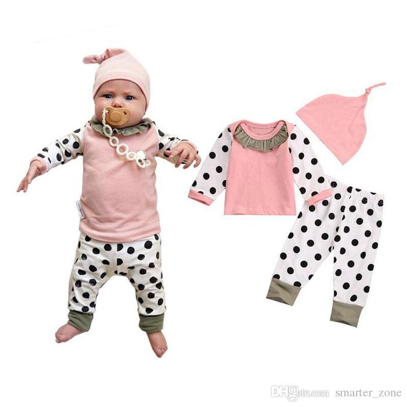 c298e815 Compre Primavera Casual Baby Girl Set Kits Infantiles Para Los Recién  Nacidos De Manga Larga Ropa De Los Niños De Deportes Trajes Para Bebés New  Born Baby ...