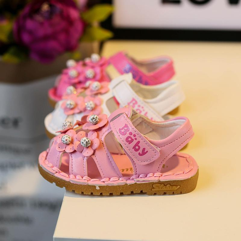 c4d1e6fda60 Hot Sale 2017 New Arrival Flowers Balls Princess Summer Children Sandals  Shoes For Girls Kids Products White Pink Rose 6 9.5 Toddler Boys Sandles  Kid Boy ...