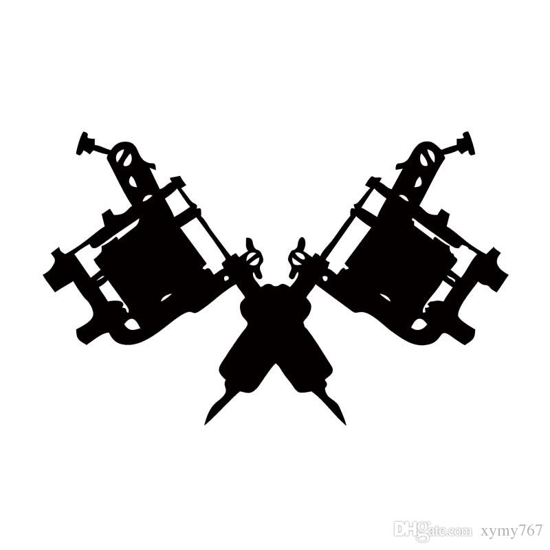 2018 new style for tattoo gun machine car styling truck decal vinyl sticker jdm car window accessories graphics decor from xymy767 1 21 dhgate com