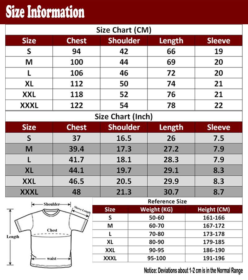 Classical Anime Dragon Ball Z T Shirt Men New Printed Fashion Son Goku T Shirts Tees Short Sleeve Cotton T-shirts DIY-0732D