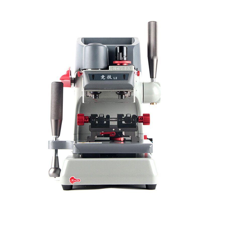 New L2 Vertical Key Cutting Machine Universal key Duplicate machine Better than Slica Key Cutting Machine
