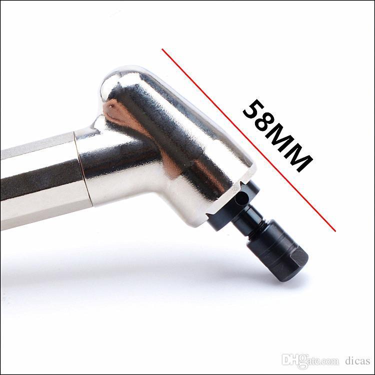 Trasporto libero 120 gradi smerigliatrice pneumatica taglio penna del vento micro aria smerigliatrice abrasiva utensili pneumatica rettifica levigatrice