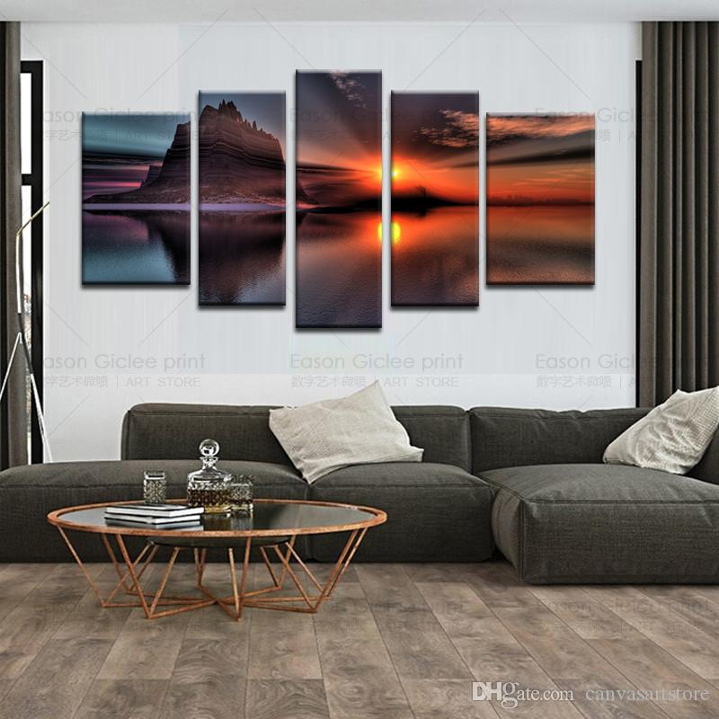 2018 Canvas Painting Canvas Art Seascape Painting For Living Room Canvas  Prints Artwork Wall Decor Modern Decorative Picture From Canvasartstore, ...