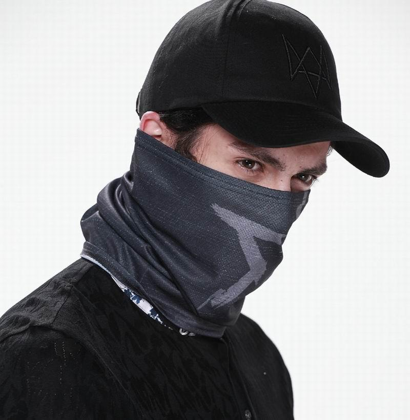 Watch Dogs Aiden Pearce Face Mask Hat Set