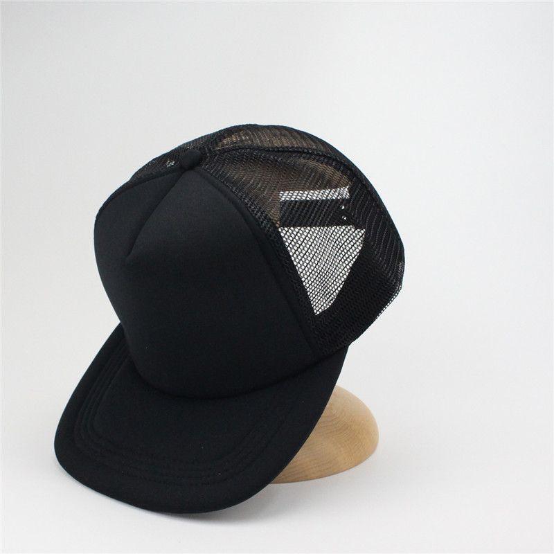 f14c36be120 Black Plain Mesh Snapback Caps Hat Mens Baseball Cap Unisex Gorras Hip Hop  Snapbacks Mesh Sun Hats Kangol Baseball Caps From Yurui2015