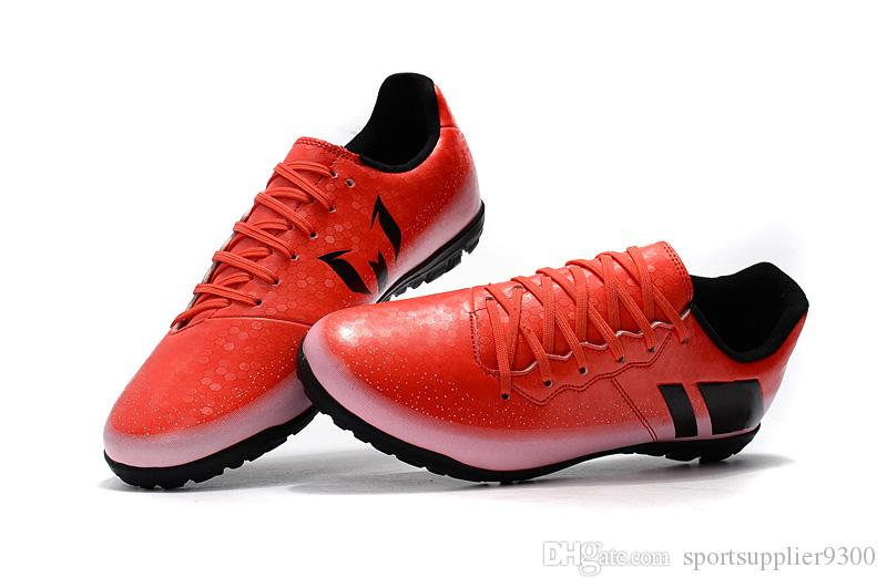 65950d790506 2019 Best Sale Mens Messi 16.3 FG AG TF IC Soccer Shoes Messi AG Football  Shoes Outdoor Soccer Boots Futsal Turf Football Cleats Size US 6 11 From ...