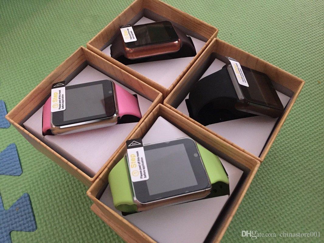 A1 Smartwatch Smart Uhren Niedriger Preis Bluetooth Wearable Männer Frauen Smart Watch Mobile mit Kamera für Android Smartphone Smartwatch Kamera