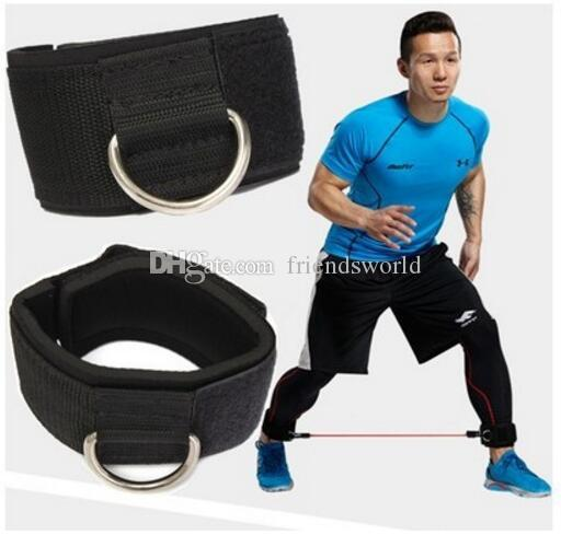 Ankle Anchor Strap D-ring Multi Gym Cable Attachment Thigh Leg Pulley Strap Lifting Fitness Exercise Training Fitness Equipment