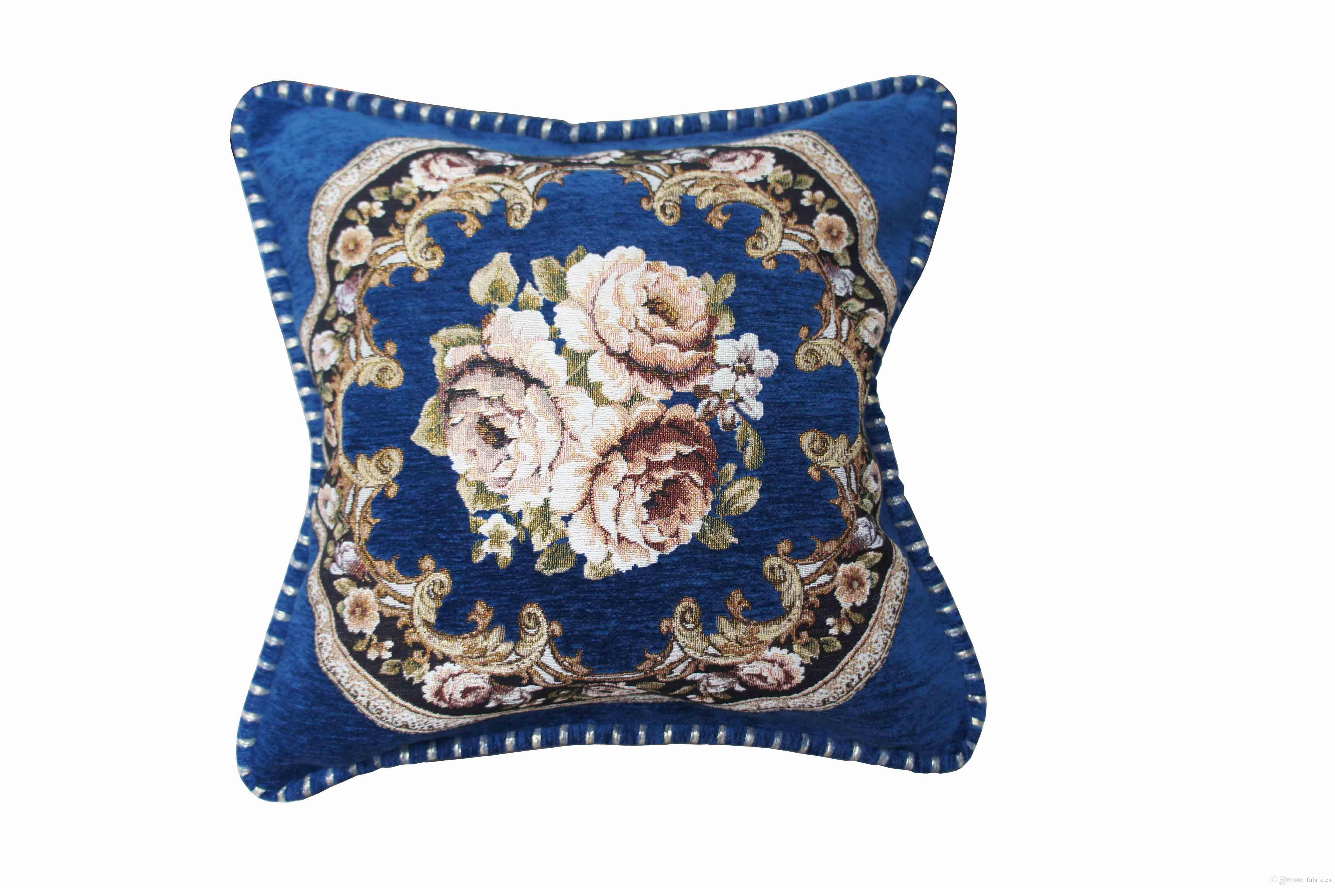 Sofa Cushion Cover 18 18 Inch Thick Chenille Highn Quality Fabric